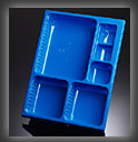 thermoformed trays 7